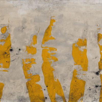 Algues, 2011. Acrílic sobre paper, marouflé. 88x125 cm.