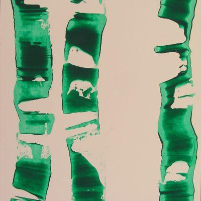 Traçats, 2011. Acrílic 38x27 cm.