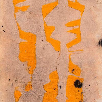 Traçats, 2011. Acrílic sobre paper. 50x35 cm.