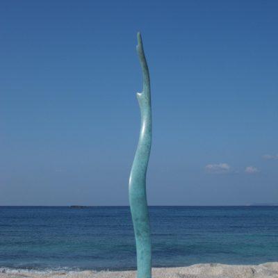 ALGA INFINITA, 2012.  Bronze. 400x55x30 cm.