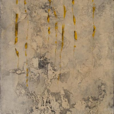 Algues, 2011. Acrílic sobre paper-marouflé. Acrylic on paper glued on canvas. 150 x 100 cm
