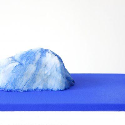 Blue Salt Island, 2015. 6x18x25 cm.
