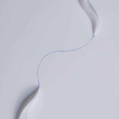 Seaweed, 2017. Relleu en marbre de Carrara. 40x30 cm. (2)